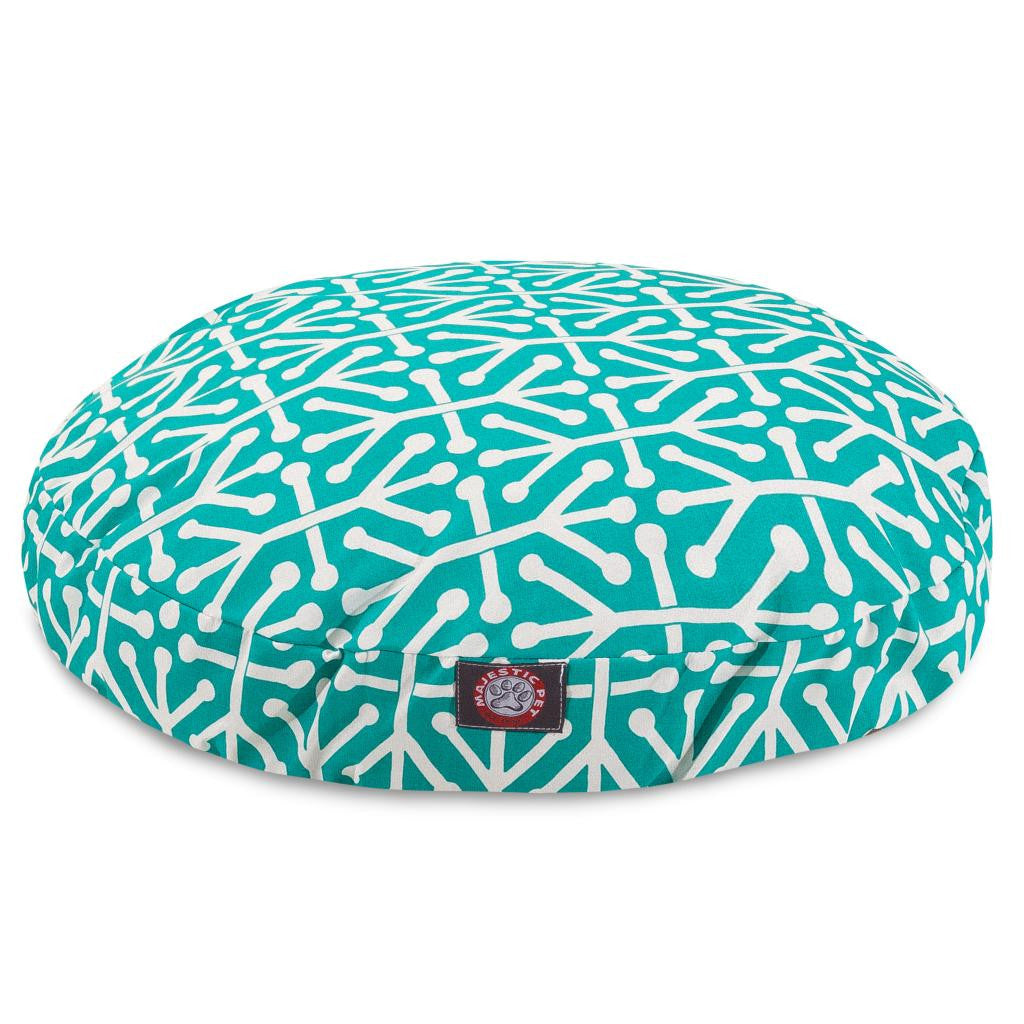 Aruba round dog bed