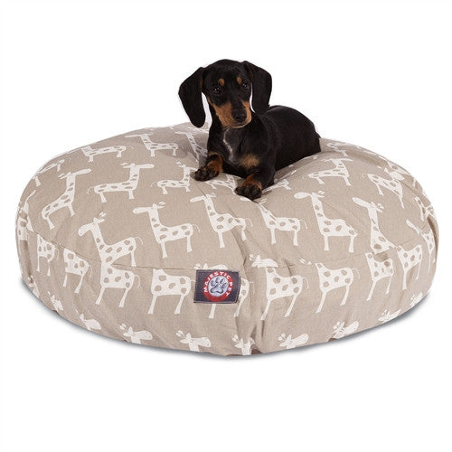 Stretch Maple Small Round Pet Bed