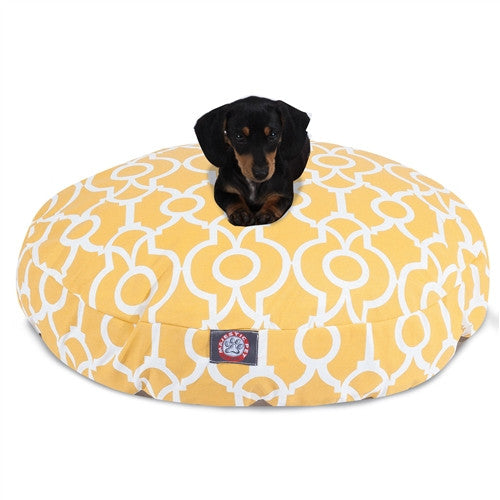 Athens Citrus Small Round Pet Bed