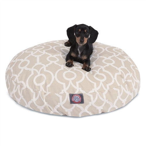 Athens Sand Small Round Pet Bed