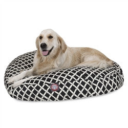 Bamboo Round Dog Bed