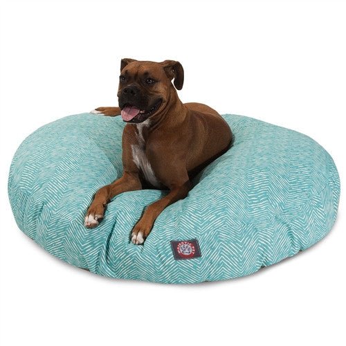 Navajo Round Dog Bed