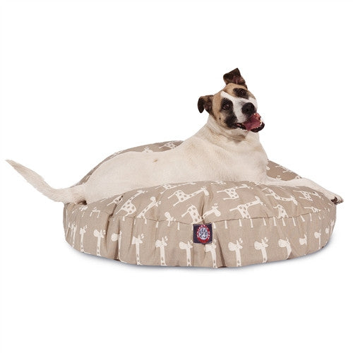 Stretch Maple Large Round Pet Bed