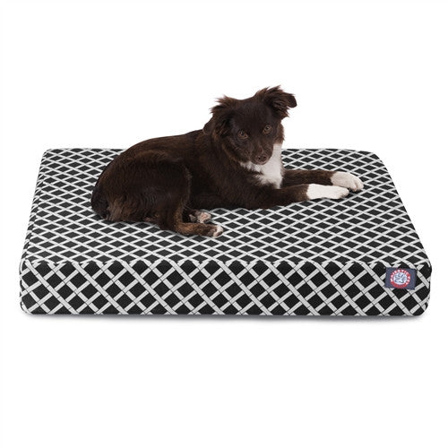 Bamboo Memory Foam Bed Black