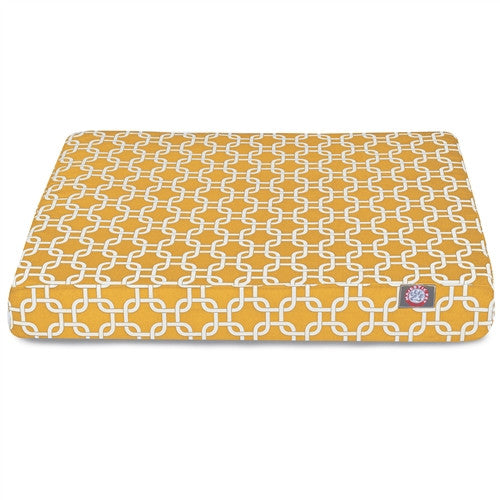 Links Memory Foam BedYellow