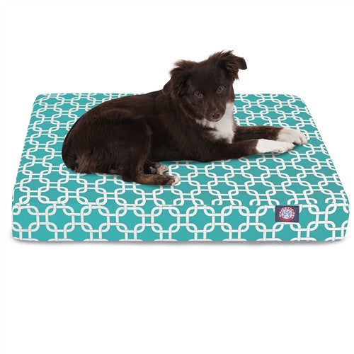 Links Memory Foam BedTeal