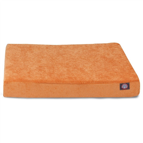 Villa Memory Foam Bed Orange