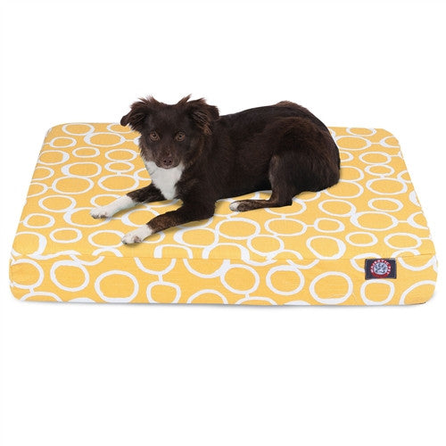 Fusion Memory Foam Bed Yellow