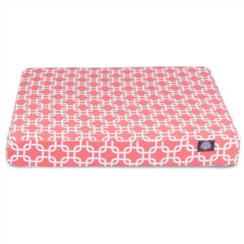 Links Memory Foam Bed Coral