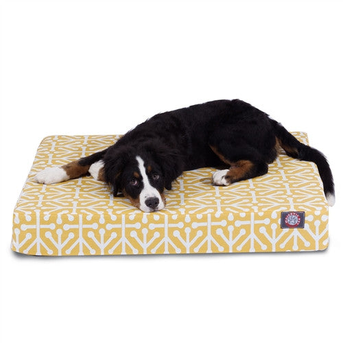 Aruba Memory Foam Bed Citrus