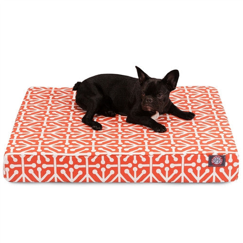 Aruba Memory Foam Bed Orange