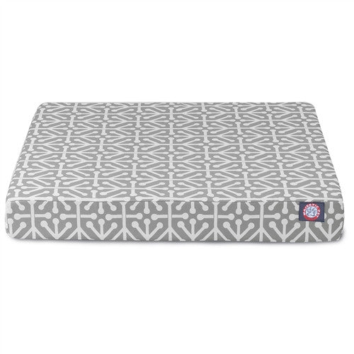 Aruba Memory Foam Bed Grey