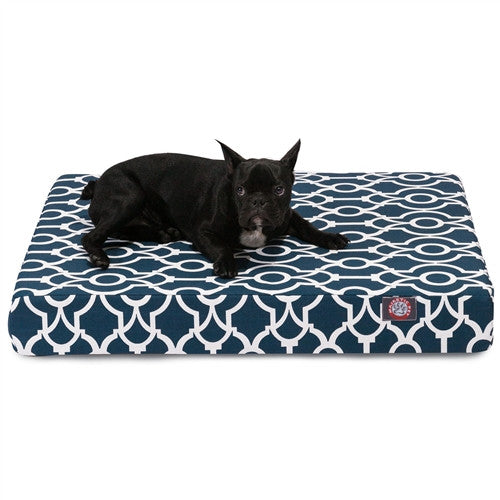 Athens Memory Foam Bed Navy