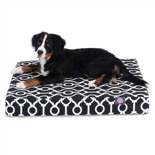 Athens Memory Foam Bed Black