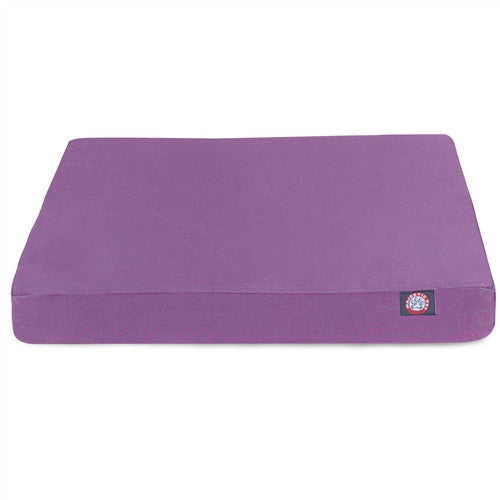 Solid Memory Foam Bed Lilac