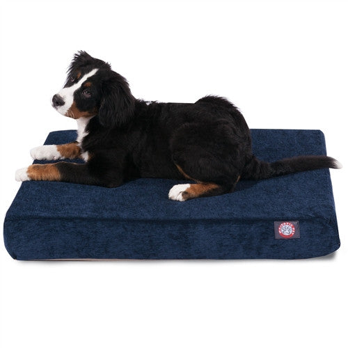 Villa Memory Foam Bed Navy