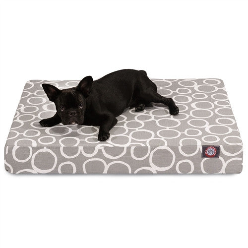Fusion Memory Foam Bed Gray
