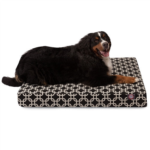 Links Memory Foam BedBlack