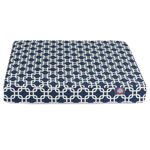 Links Memory Foam BedBlue