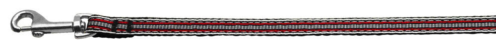 Preppy-Stripes-Nylon-Ribbon-Collars-Red-White-3-8-wide-4Ft-Lsh