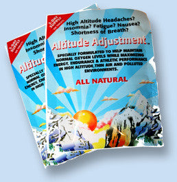 Altitude Adjustment (3 Day Supply)