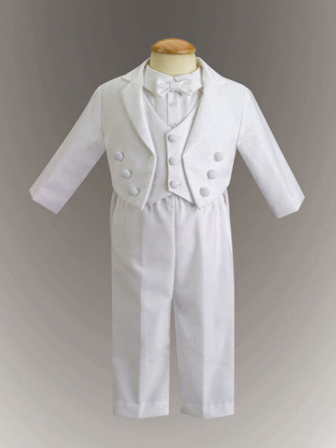 Jeffrey Baby Boy/Toddler's Cotton Tuxedo with Pique Vest
