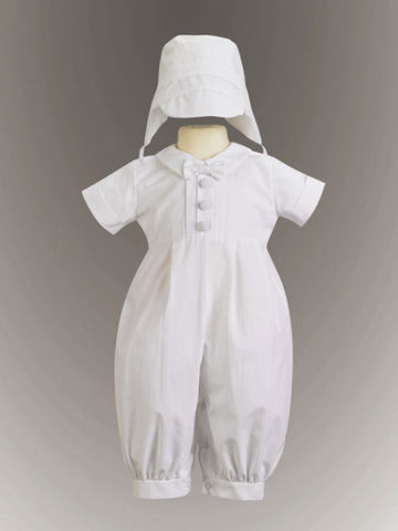 Garvin Boy's Cotton Romper and Cap