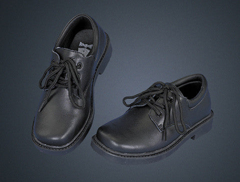 Michael Boy's Leather Dress Shoes