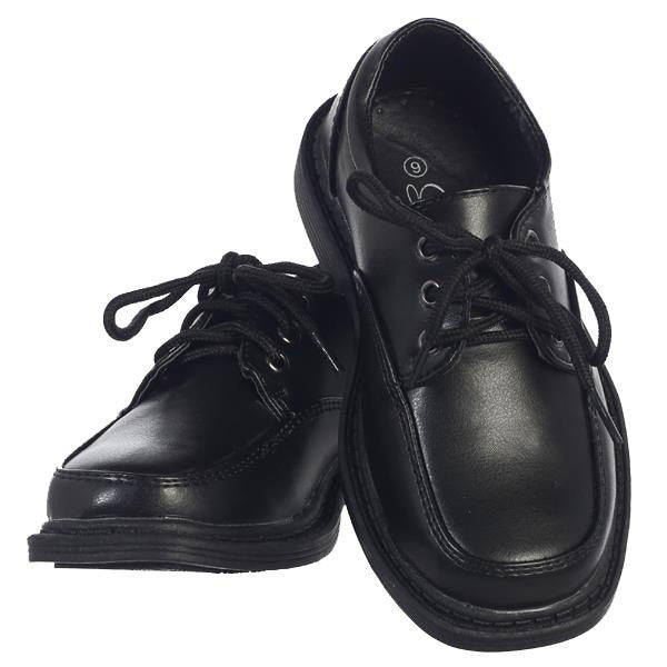 David Boys Lace Up Matte Shoes
