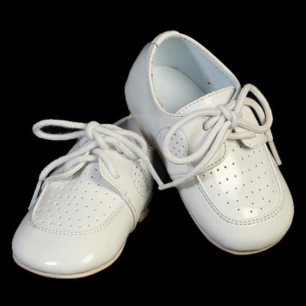 Drew Baby Boys White Lace-up Shoes