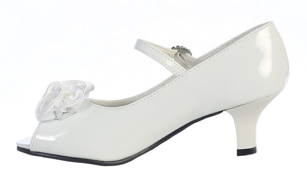 Nancy Girls Heeled Shoe