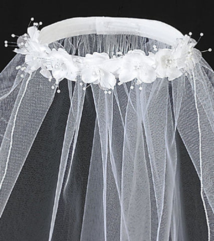 Lovely Lily Headpiece with Veil - Lito T-4