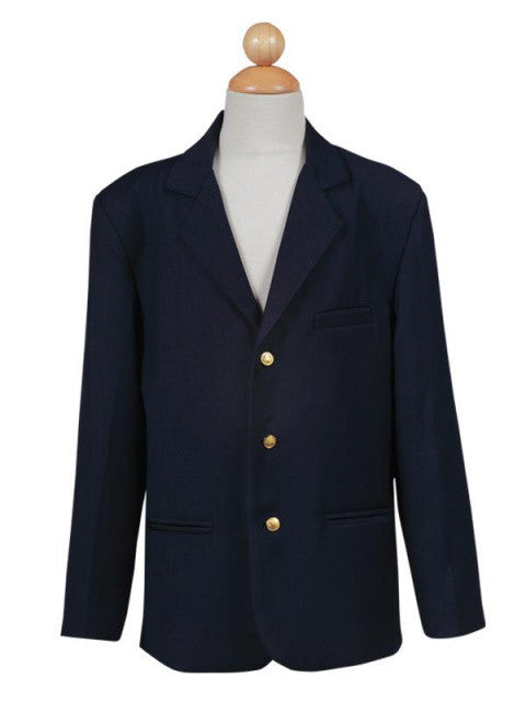 Boy's Navy Blazer with Gold Buttons