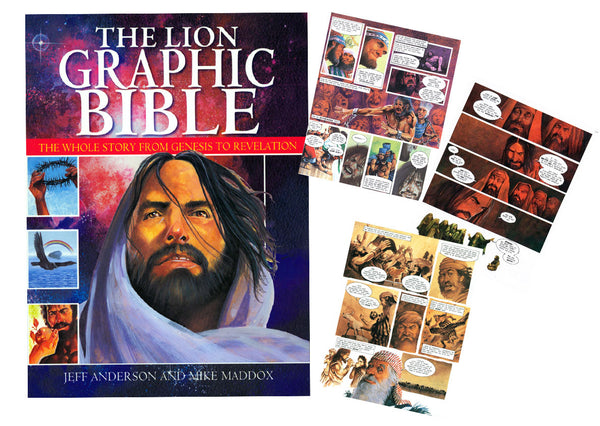 Lion Graphic Bible - Jeff Anderson Illustration