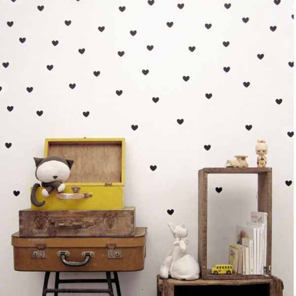 Dot Shape Wall Decal Decal Portal   Simple Shapes Wall Design