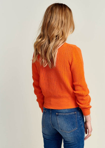 Bellerose - Uoss Cardigan: Orange - ouimillie