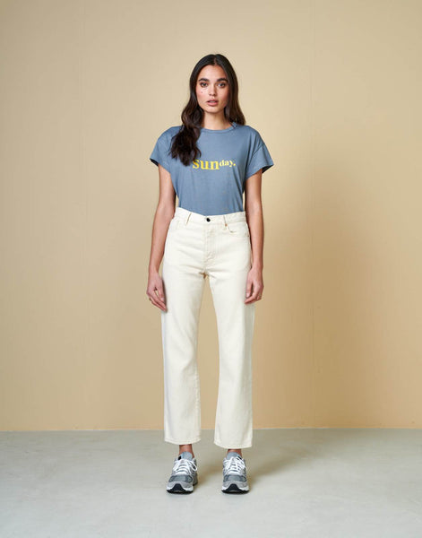 Bellerose - Ayo T-Shirt: Metal Blue - ouimillie