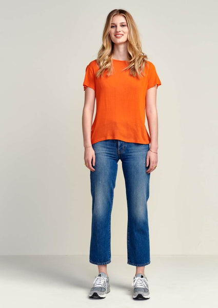 Bellerose - Genny T-shirt: Orange - ouimillie
