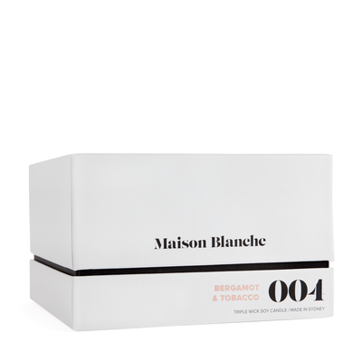 Maison Blanche NEW Deluxe Candle