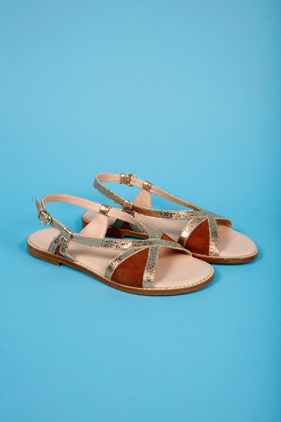 Craie - Pientre Sandals: Terracotta
