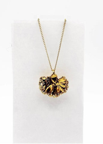 Dauphinette - Kale Necklace: Gold