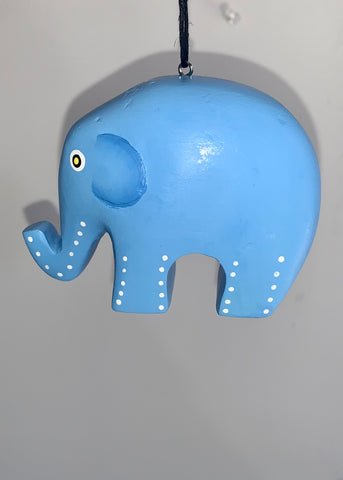 Women of the Cloud Forest - Blue Elephant Ornament