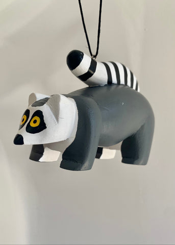 Women of the Cloud Forest - Ring Tailed Lemur Ornament