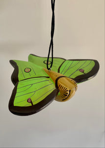 Women of the Cloud Forest - Luna Moth Ornament
