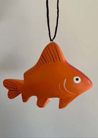 Women of the Cloud Forest - Gold Fish Ornament