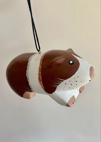 Women of the Cloud Forest - Guinea Pig Ornament