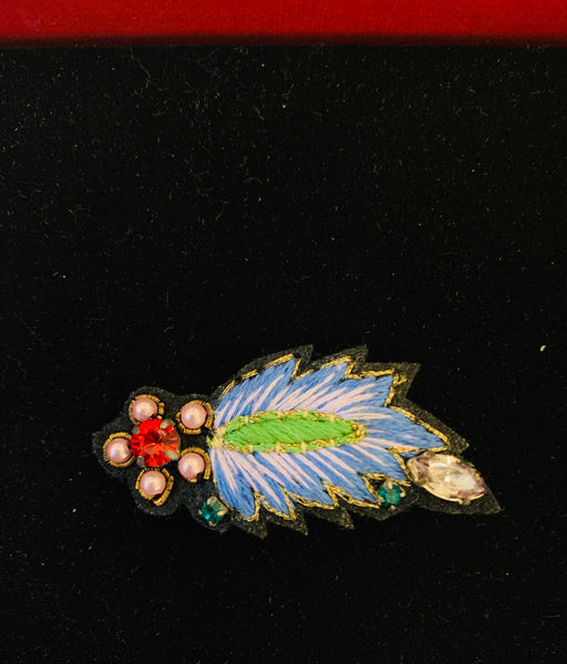 My Bob - Leaf Brooch - ouimillie