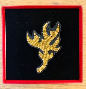 My Bob - Gold Antler Brooch - ouimillie