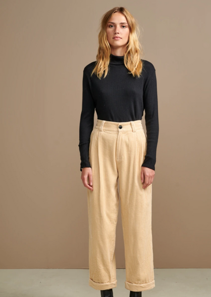 Bellerose - Lazard Corduroy Pants: Cream