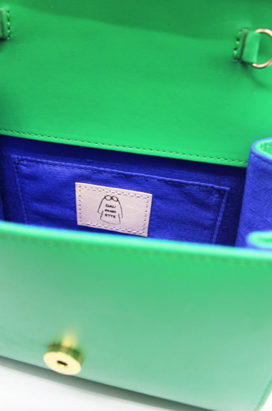 Dauphinette - Bergere Bag: Emerald